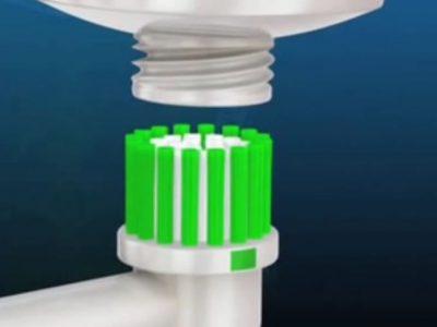 uso del cepillo dental electrico